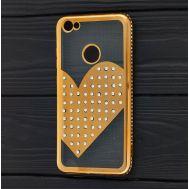Чехол для Xiaomi Redmi Note 5A Prime Kingxbar сердце золотистый