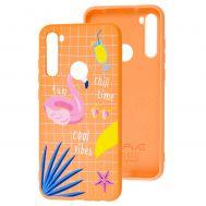 Чехол для Xiaomi Redmi Note 8T Wave Fancy summer mood / peach