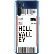 Силиконовый чехол BoxFace OPPO A91 Ticket Hill Valley (41577-cc94)
