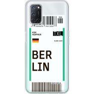 Силиконовый чехол BoxFace OPPO A52 Ticket Berrlin (41582-cc80)