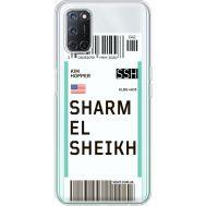 Силиконовый чехол BoxFace OPPO A52 Ticket Sharmel Sheikh (41582-cc90)
