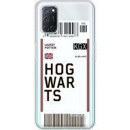 Силиконовый чехол BoxFace OPPO A52 Ticket Hogwarts (41582-cc91)
