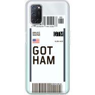 Силиконовый чехол BoxFace OPPO A52 Ticket Gotham (41582-cc92)