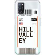 Силиконовый чехол BoxFace OPPO A52 Ticket Hill Valley (41582-cc94)