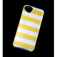 Накладка iPhone 5 Yellow Stripes (APH5-KILCH-YLSP) Killer Chic