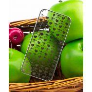 Накладка KROM iPhone 5 Silver (APH5-NKROM-SLVR)