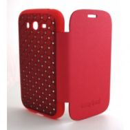 Книжка Diamont Cover Sams i9082 red силикон