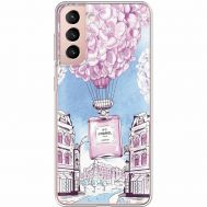 Силиконовый чехол BoxFace Samsung G991 Galaxy S21 Perfume bottle (941710-rs15)