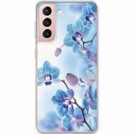 Силиконовый чехол BoxFace Samsung G991 Galaxy S21 Orchids (941710-rs16)