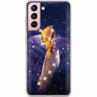 Силиконовый чехол BoxFace Samsung G991 Galaxy S21 Girl with Umbrella (941710-rs20)