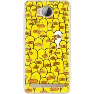Силиконовый чехол BoxFace Huawei Ascend Y3 2 Yellow Ducklings (28882-up2428)