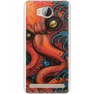 Силиконовый чехол BoxFace Huawei Ascend Y3 2 Octopus (28882-up2429)