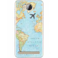 Силиконовый чехол BoxFace Huawei Ascend Y3 2 Карта (28882-up2434)