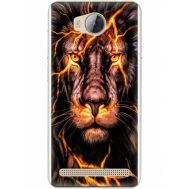 Силиконовый чехол BoxFace Huawei Ascend Y3 2 Fire Lion (28882-up2437)