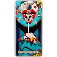 Силиконовый чехол BoxFace Huawei Ascend Y3 2 Girl Pop Art (28882-up2444)