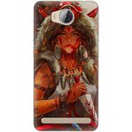 Силиконовый чехол BoxFace Huawei Ascend Y3 2 Принцесса Мононоке (28882-up2451)