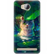 Силиконовый чехол BoxFace Huawei Ascend Y3 2 White Tiger Cub (28882-up2452)