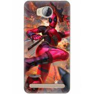 Силиконовый чехол BoxFace Huawei Ascend Y3 2 Woman Deadpool (28882-up2453)