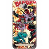 Силиконовый чехол BoxFace Huawei Ascend Y3 2 Deadpool and Mary Jane (28882-up2454)