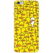 Силиконовый чехол BoxFace Apple iPhone 6 Plus 5.5 Yellow Ducklings (24581-up2428)