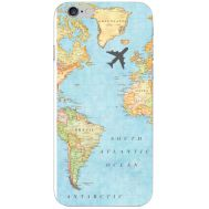 Силиконовый чехол BoxFace Apple iPhone 6 Plus 5.5 Карта (24581-up2434)