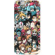 Силиконовый чехол BoxFace Apple iPhone 6 Plus 5.5 Anime Stickers (24581-up2458)