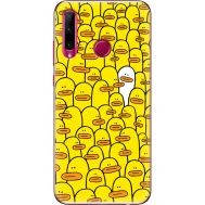 Силиконовый чехол BoxFace Huawei Honor 10i Yellow Ducklings (37075-up2428)