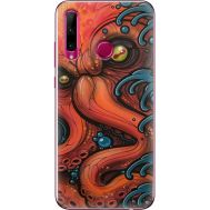 Силиконовый чехол BoxFace Huawei Honor 10i Octopus (37075-up2429)