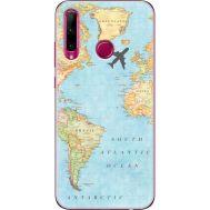Силиконовый чехол BoxFace Huawei Honor 10i Карта (37075-up2434)