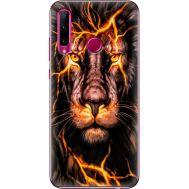 Силиконовый чехол BoxFace Huawei Honor 10i Fire Lion (37075-up2437)