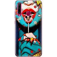 Силиконовый чехол BoxFace Huawei Honor 10i Girl Pop Art (37075-up2444)