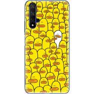 Силиконовый чехол BoxFace Huawei Honor 20 Yellow Ducklings (37632-up2428)