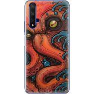Силиконовый чехол BoxFace Huawei Honor 20 Octopus (37632-up2429)