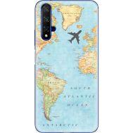 Силиконовый чехол BoxFace Huawei Honor 20 Карта (37632-up2434)