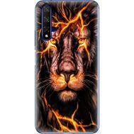 Силиконовый чехол BoxFace Huawei Honor 20 Fire Lion (37632-up2437)