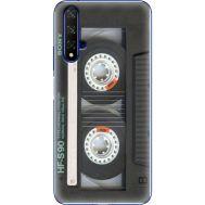 Силиконовый чехол BoxFace Huawei Honor 20 Старая касета (37632-up2445)