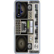 Силиконовый чехол BoxFace Huawei Honor 20 Old Boombox (37632-up2446)