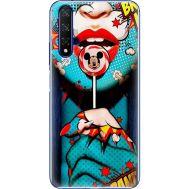 Силиконовый чехол BoxFace Huawei Honor 20 Girl Pop Art (37632-up2444)