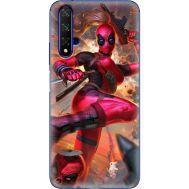 Силиконовый чехол BoxFace Huawei Honor 20 Woman Deadpool (37632-up2453)