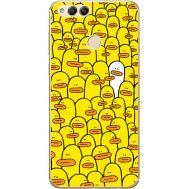 Силиконовый чехол BoxFace Huawei Honor 7x Yellow Ducklings (32670-up2428)