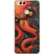 Силиконовый чехол BoxFace Huawei Honor 7x Octopus (32670-up2429)