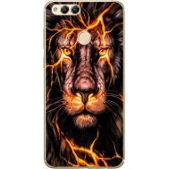 Силиконовый чехол BoxFace Huawei Honor 7x Fire Lion (32670-up2437)