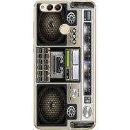 Силиконовый чехол BoxFace Huawei Honor 7x Old Boombox (32670-up2446)
