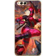 Силиконовый чехол BoxFace Huawei Honor 7x Woman Deadpool (32670-up2453)