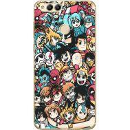 Силиконовый чехол BoxFace Huawei Honor 7x Anime Stickers (32670-up2458)