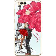 Силиконовый чехол BoxFace Huawei Honor 7x Love in Paris (32670-up2460)