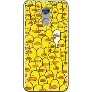 Силиконовый чехол BoxFace Huawei Honor 6A Yellow Ducklings (32972-up2428)