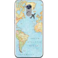 Силиконовый чехол BoxFace Huawei Honor 6A Карта (32972-up2434)