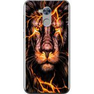 Силиконовый чехол BoxFace Huawei Honor 6A Fire Lion (32972-up2437)