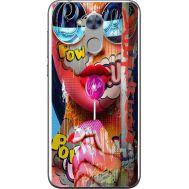 Силиконовый чехол BoxFace Huawei Honor 6A Colorful Girl (32972-up2443)